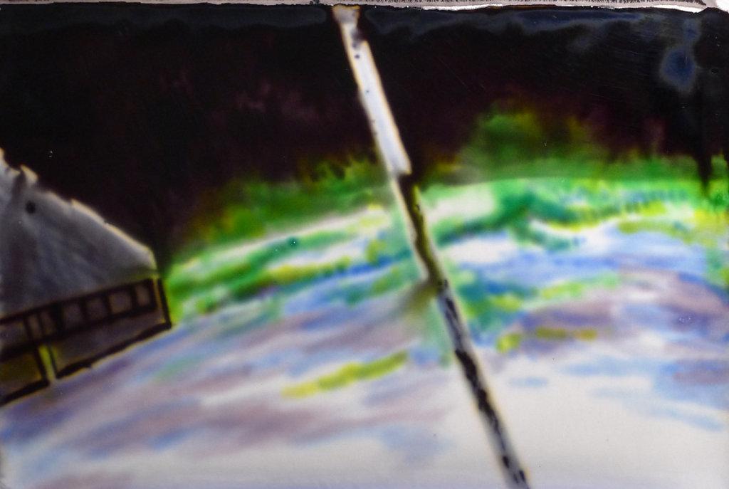Aurora borealis (ISS), 2011