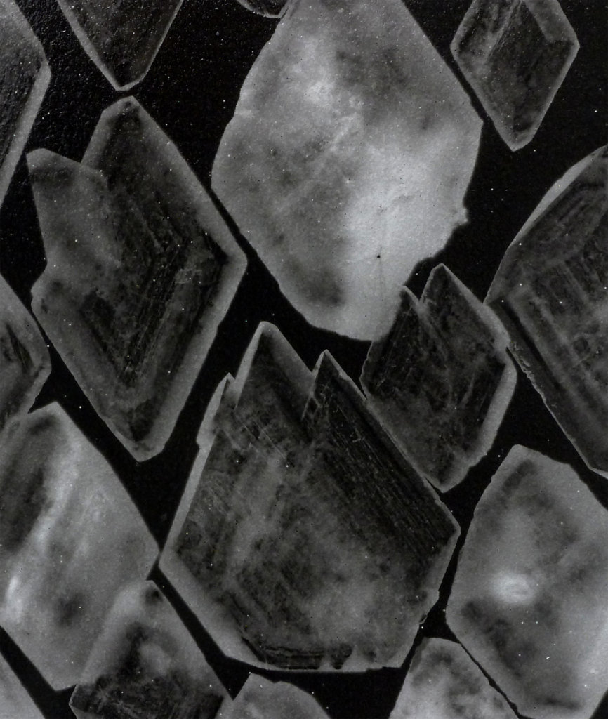 Crystal photogram (detail), 2016