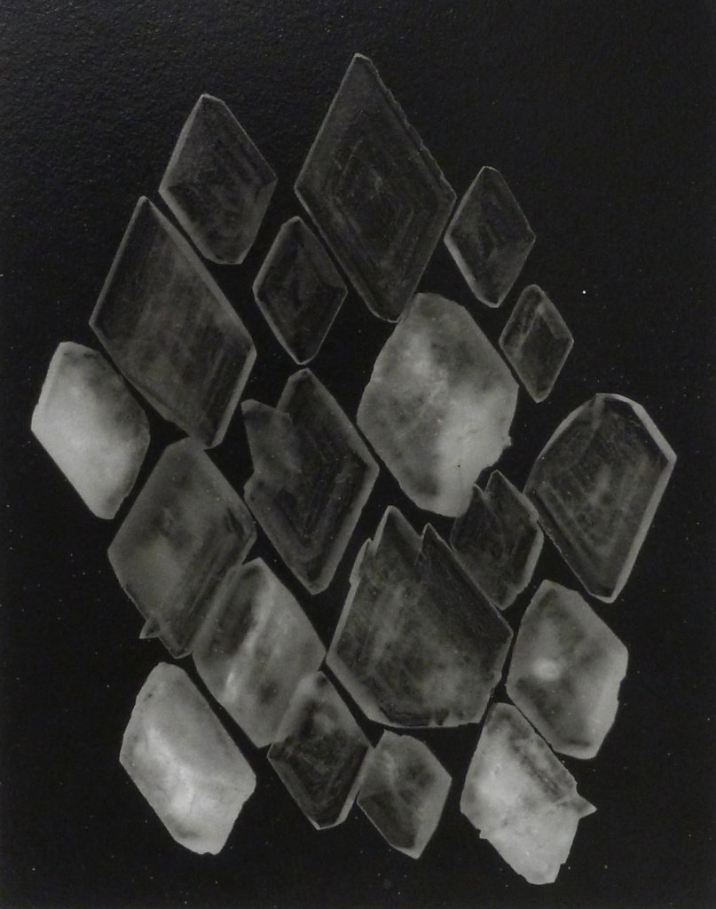 Crystal photogram, 2016.