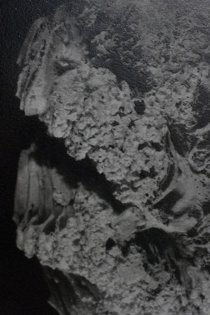 Dark clam (exterior-detail), 2016.